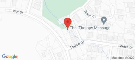Location map for 6 Bryan Court Burrum Heads
