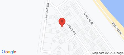 Location map for 7 Travis Road Burrum Heads