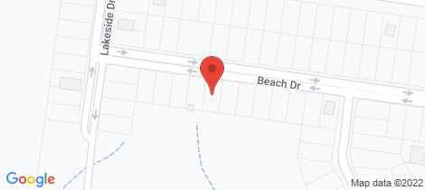 Location map for 11 Beach Dr Burrum Heads