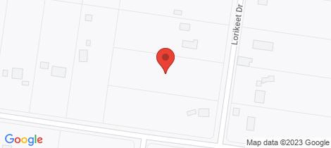 Location map for 4 Lorikeet Drive Burrum Heads