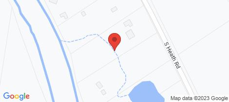 Location map for 32-34 South Heath Road Burrum River