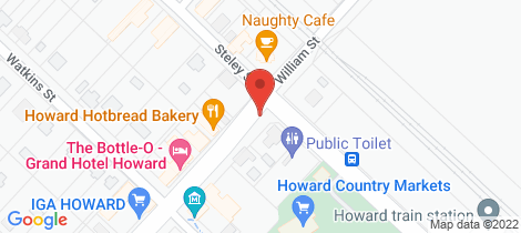 Location map for 65 William Street Howard