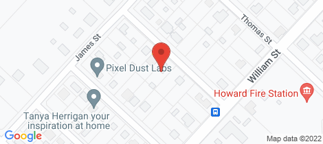 Location map for 8 Charles St Howard