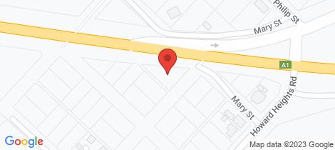 Location map for 13 Bellevue Street Howard
