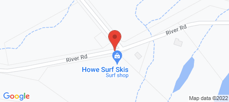 Location map for 90 River Road Howard