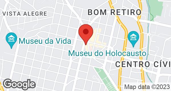 Av. Desembargador Hugo Simas, 407 Bom Retiro, Curitiba, PR