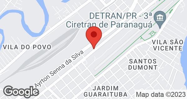 Av. Bento Munhoz da Rocha Neto, 1698 Jd América, Paranaguá, PR