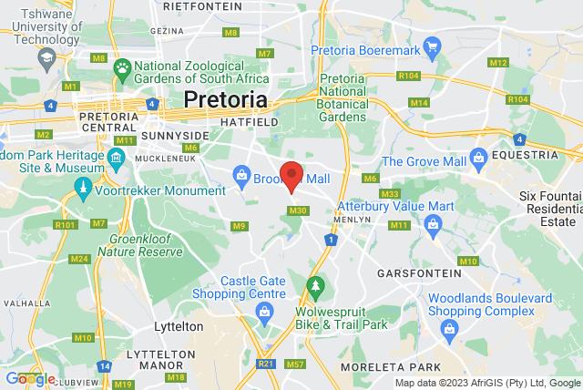 BASI Pilates South Africa Map