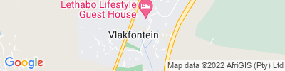 Vlakfontein (Hazardous) Map