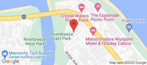 Location map for 2/6 Philipp St Maroochydore