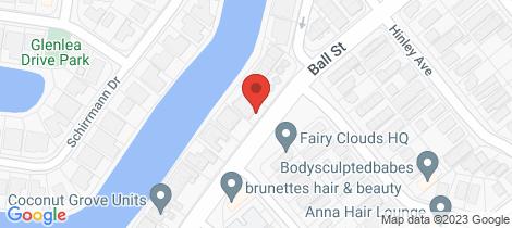 Location map for 3/4 Broadmeadows Road Maroochydore
