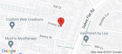Location map for 2/53 Cronin Street Morayfield