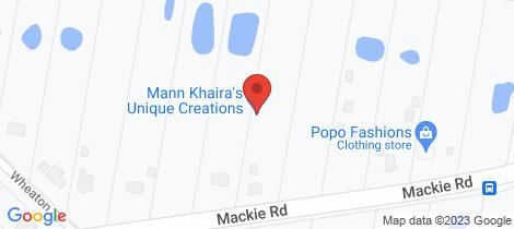 Location map for 14 Everton Street Narangba