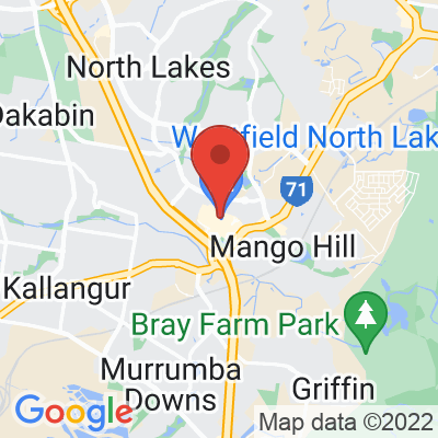 Map showing Archer Specialty Coffee (North Lakes)