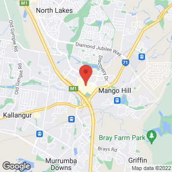 Map of STA Travel at Westfield North Lakes, North Lakes, QLD 4509