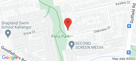 Location map for 18 Oakview Kallangur