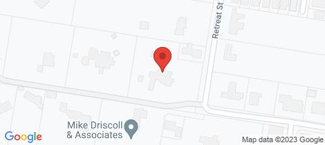 Location map for 58 Retreat Street Bridgeman Downs