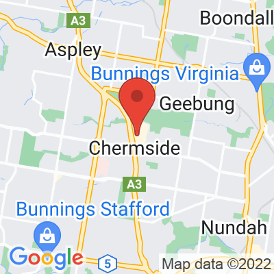 Map showing Archer (Chermside)