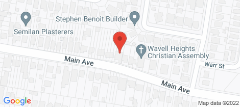 Location map for 105 Main Avenue Wavell Heights