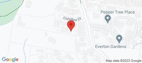 Location map for 5 Colvillea Court Everton Hills