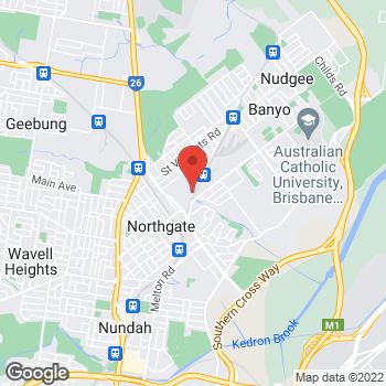 Map of O'Brien® AutoGlass Virginia at 59 Northlink Place, Virginia, QLD 4014