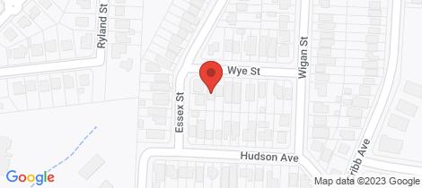 Location map for 20 Wye Street Mitchelton