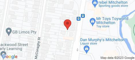 Location map for 162 Osborne Road Mitchelton