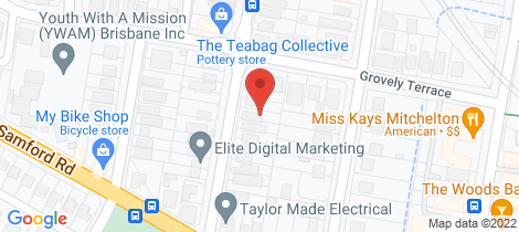 Location map for 23 Glen Holm Street Mitchelton