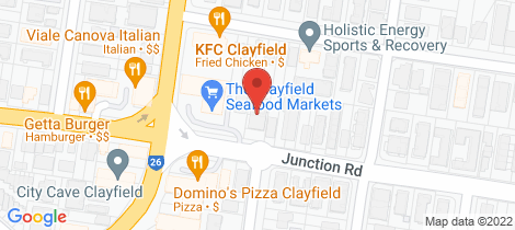 Location map for 1/101 Junction Road Clayfield
