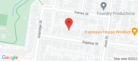 Location map for 43 Daphne Street Grange