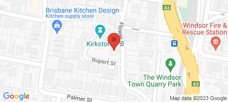 Location map for 30 Flower Street Windsor