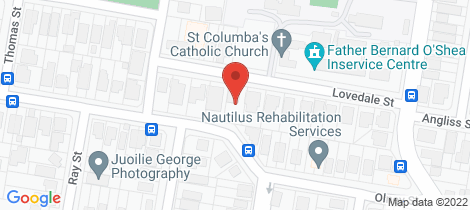 Location map for 34 Lovedale Street Wilston