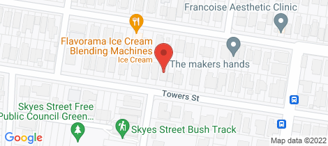 Location map for 54 Towers Street Ascot