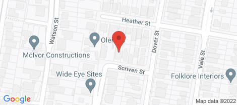 Location map for 11 Scriven Street Wilston