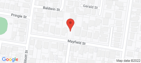 Location map for 22 Mayfield Street Ascot