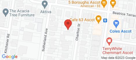 Location map for 48 Charlton Street Ascot