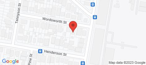 Location map for 12 Wordsworth Street Bulimba