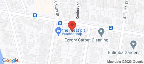 Location map for 51 Brisbane Street Bulimba