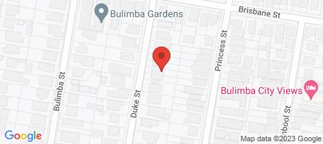 Location map for 43 Duke Street Bulimba