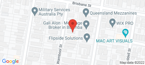 Location map for 2/43 Wambool Street Bulimba