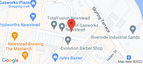 Location map for 1201/12 Longland Street Newstead