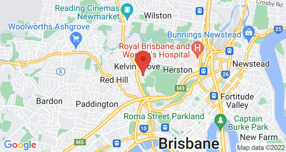 Google Map of UniLodge School Street Studios  - Student Accommodation Brisbane
