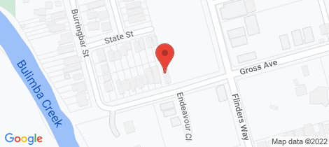 Location map for 95 Gross Avenue Hemmant