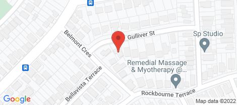 Location map for 18 Gulliver Street Paddington