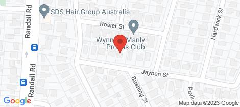 Location map for 10 Jayben Street Wynnum West