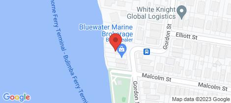 Location map for 36 Gordon Street Hawthorne