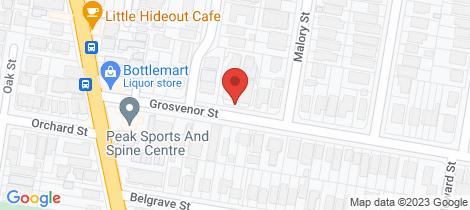 Location map for 16/24 Grosvenor Street Balmoral