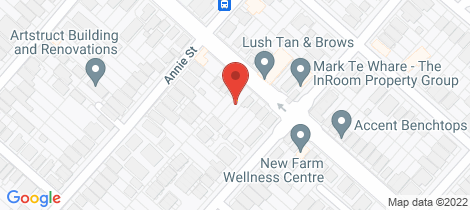 Location map for 173 James Street New Farm