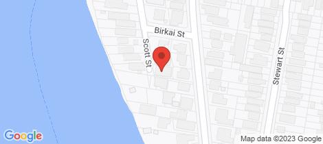 Location map for 15 Scott Street Hawthorne