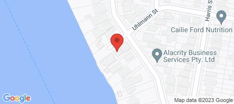 Location map for 78 Uhlmann Street Hawthorne